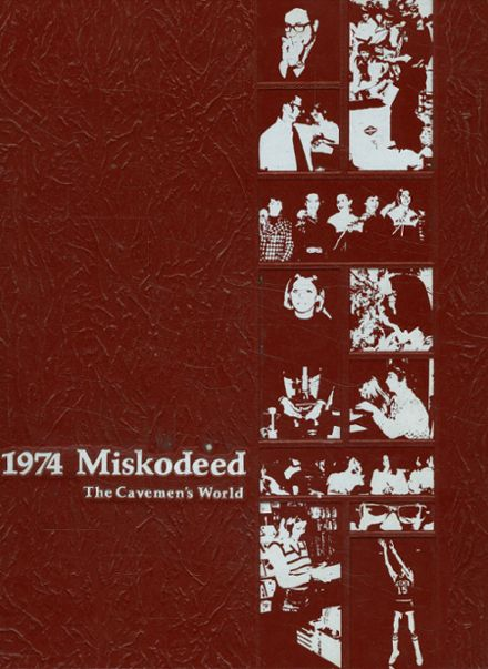 1974 Mishawaka High School Yearbook Cover