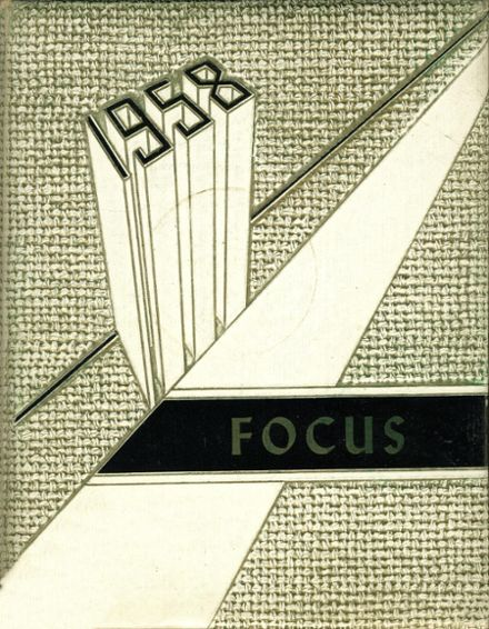 1958 Fallsburg High School Yearbook Cover