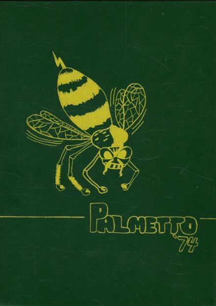 1974 Rayville High School Yearbook Cover