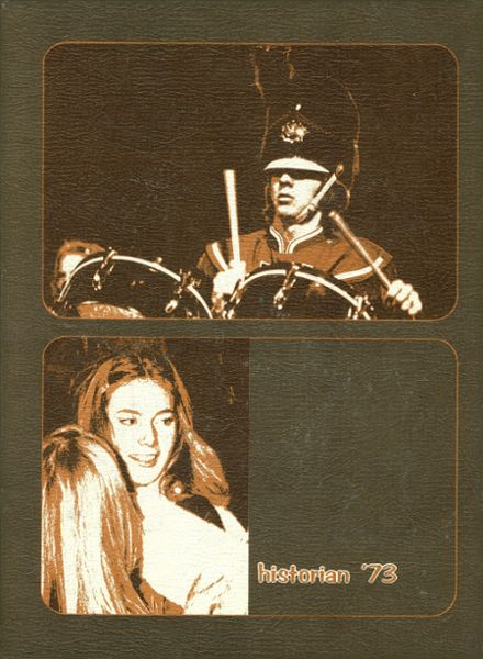 1973 McClintock High School Yearbook Cover
