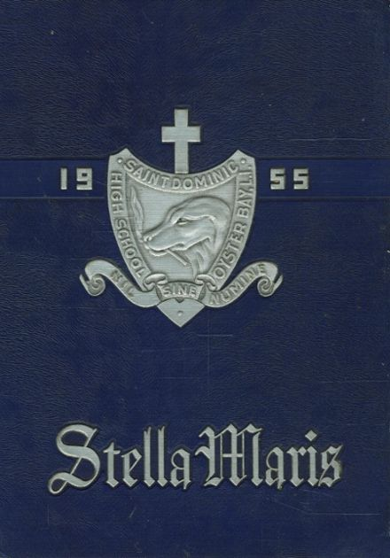 1955 St. Dominic's High School Yearbook Cover