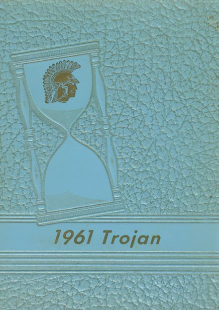 1961 Springfield High School Yearbook Cover