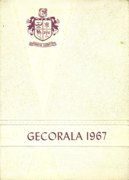 1967 Geneva County High School Yearbook Cover