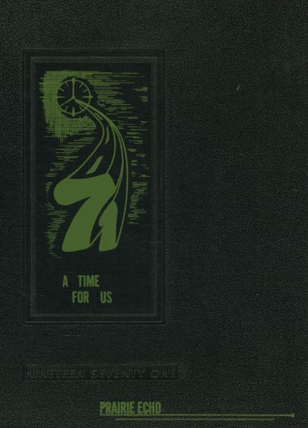 1971 St. Patrick's Academy Yearbook Cover