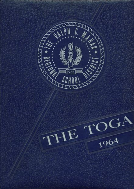 1964 Mahar Regional High School Yearbook Cover
