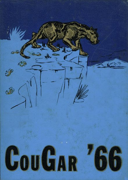 1966 Casa Grande Union High School Yearbook Cover