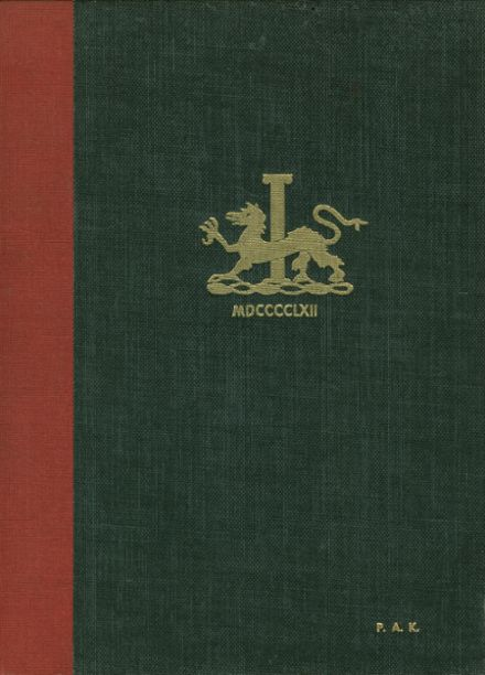1962 St. Andrew's High School Yearbook Cover