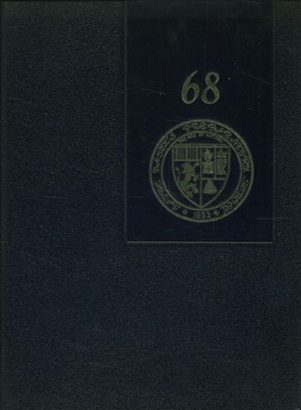 1968 St. Basil's Preparatory School Yearbook Cover