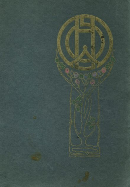 1919 Winona High School Yearbook Cover