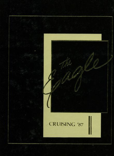1987 Chesnee High School Yearbook Cover