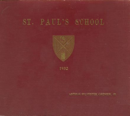 1932 St. Paul's School Yearbook Cover