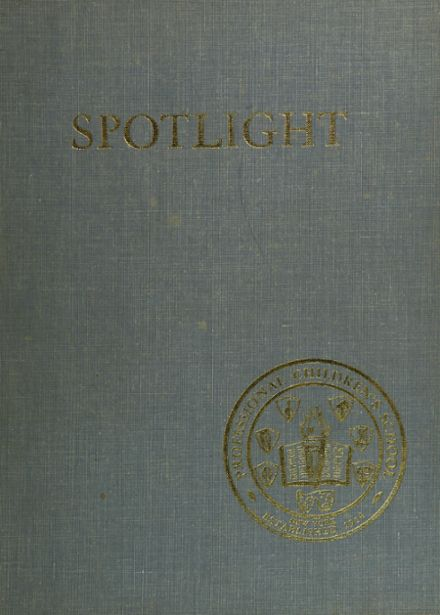 1963 Professional Children's School Yearbook Cover