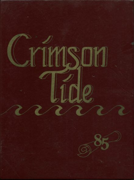 1985 Everett High School Yearbook Cover