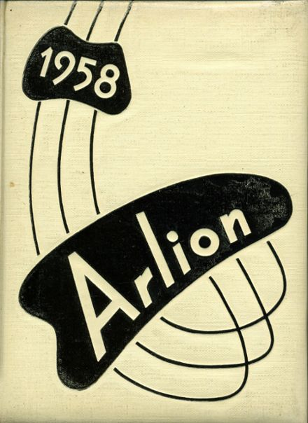 1958 Arnold High School Yearbook Cover