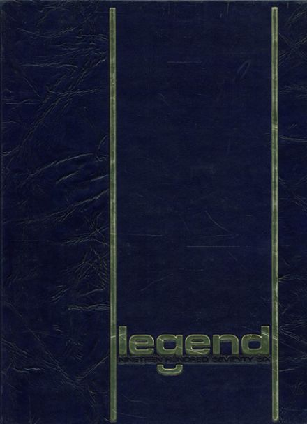 1976 Coronado High School Yearbook Cover