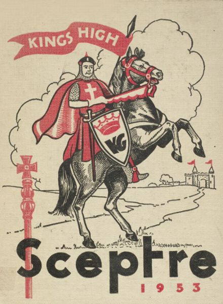 1953 King's High School Yearbook Cover