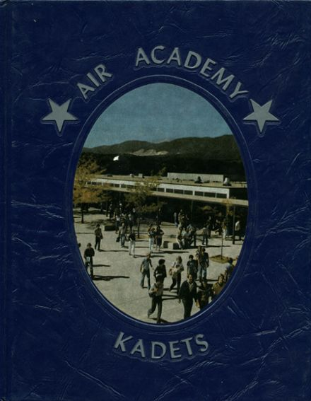 1981 Air Academy High School Yearbook Cover