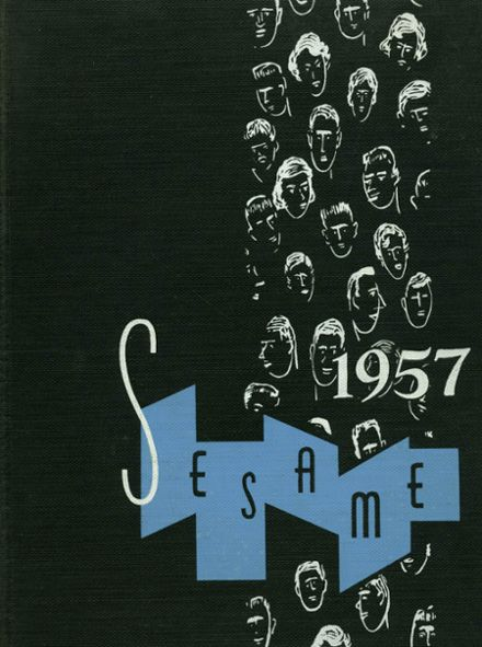 1957 South Hills High School Yearbook Cover