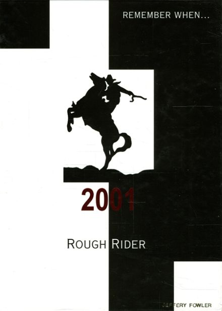 2001 Roosevelt High School Yearbook Cover