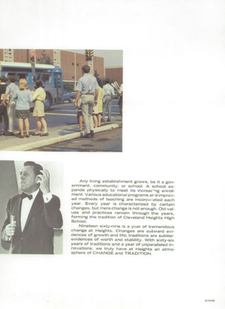 1969 Cleveland Heights High School Yearbook Page 7