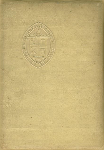 1943 St. Anne's-Belfield High School Yearbook Cover