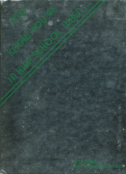 1978 West Vigo High School Yearbook Cover