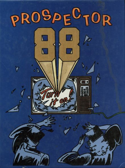 1988 Nevada Union High School Yearbook Cover