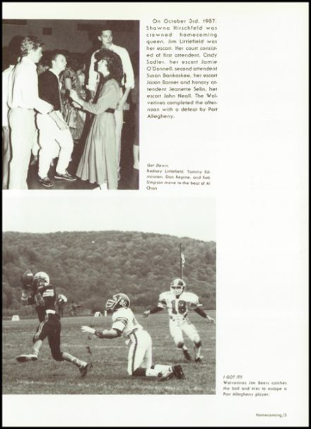 1988 Sheffield High School Yearbook Page 9