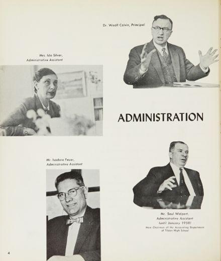 1958 Wingate High School Yearbook Page 8