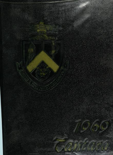 1969 Fitch High School Yearbook Cover