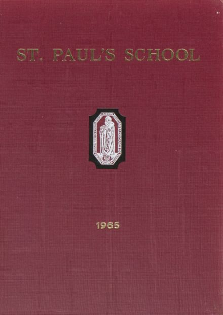 1965 St. Paul's School Yearbook Cover