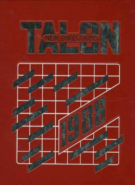 1988 Dunedin High School Yearbook Cover