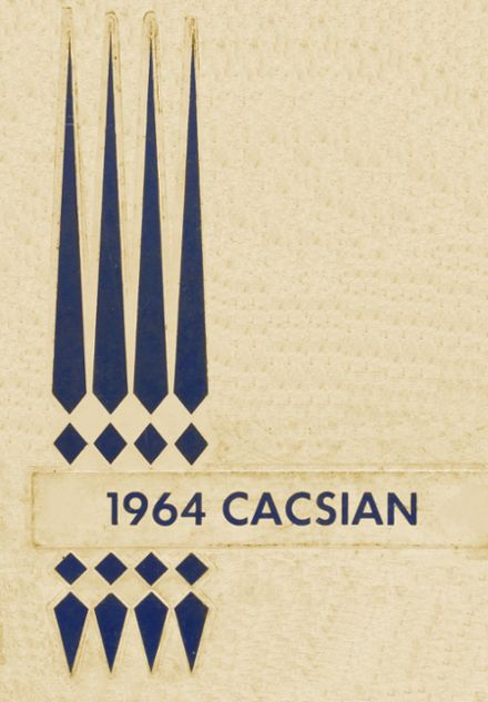 1964 Coxsackie-Athens Central High School Yearbook Cover
