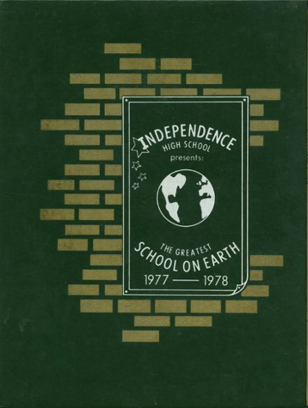 1978 independence high school yearbook cover