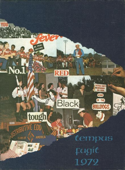 1972 Rockdale High School Yearbook Cover