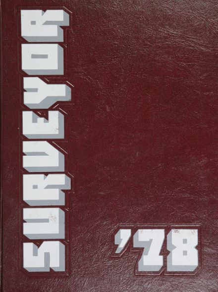 1978 Mount Vernon High School Yearbook Cover