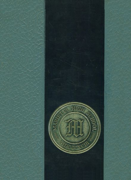 1964 Marietta High School Yearbook Cover