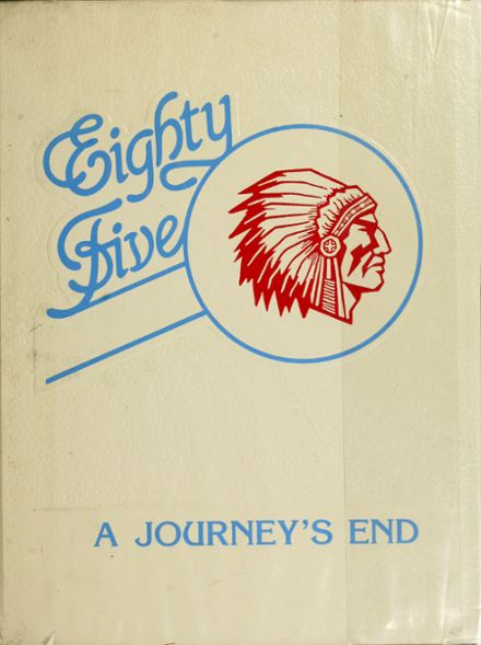 1985 St. Joseph's High School Yearbook Cover