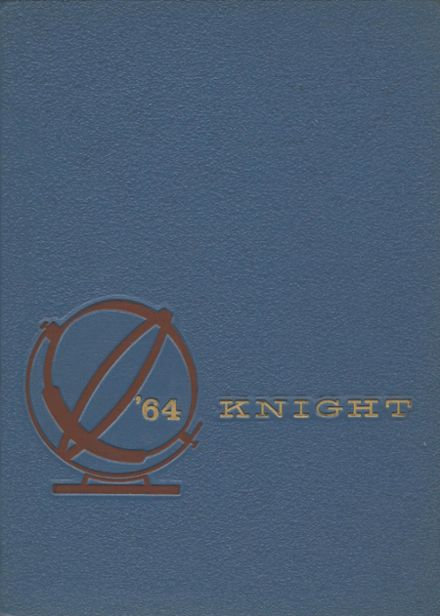 1964 Collingswood High School Yearbook Cover
