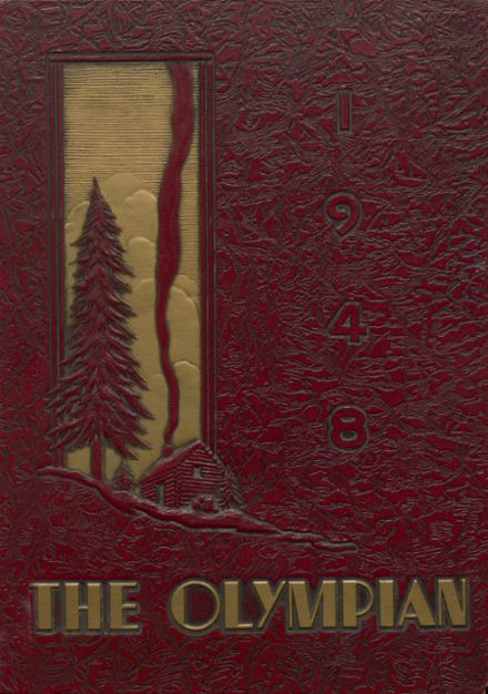 1948 O'Dea High School Yearbook Cover