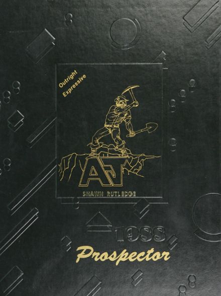 1988 Apache Junction High School Yearbook Cover