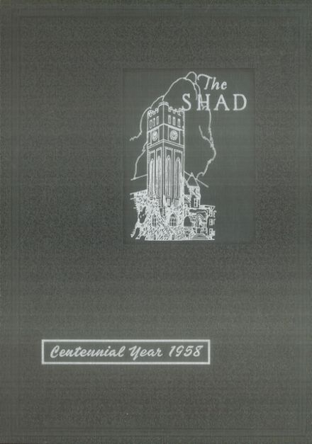 1958 Shattuck - St. Mary's School Yearbook Cover