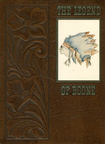 1980 Boone High School Yearbook Cover
