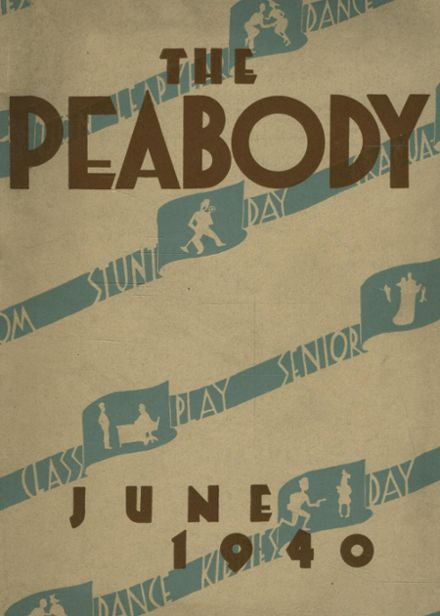 1940 Peabody High School Yearbook Cover