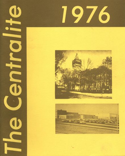 1976 Central High School Yearbook Cover