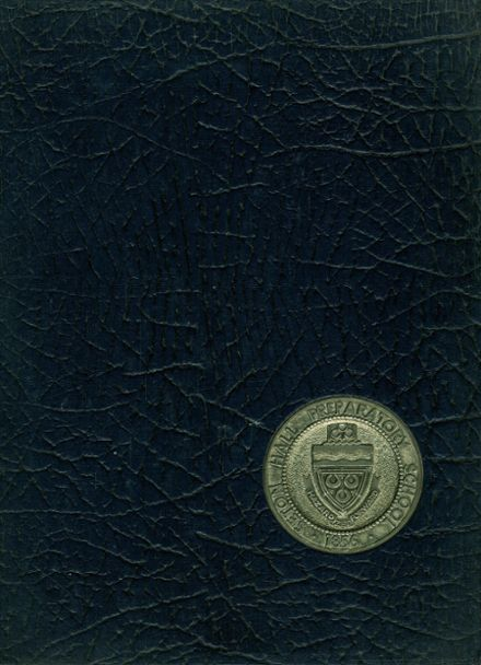 1969 Seton Hall Preparatory High School Yearbook Cover