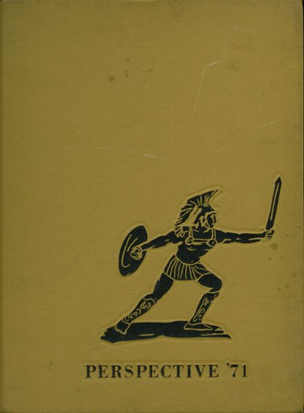 1971 Harper High School Yearbook Cover