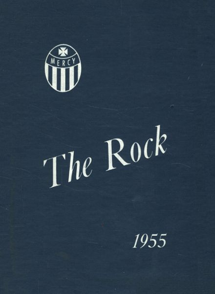 1955 St. Peter's High School Yearbook Cover