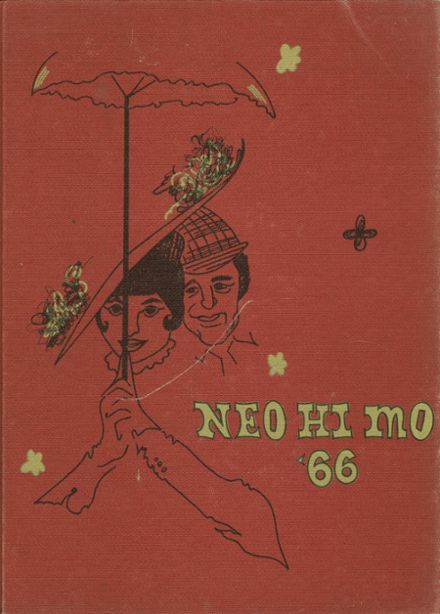 1966 Neosho High School Yearbook Cover