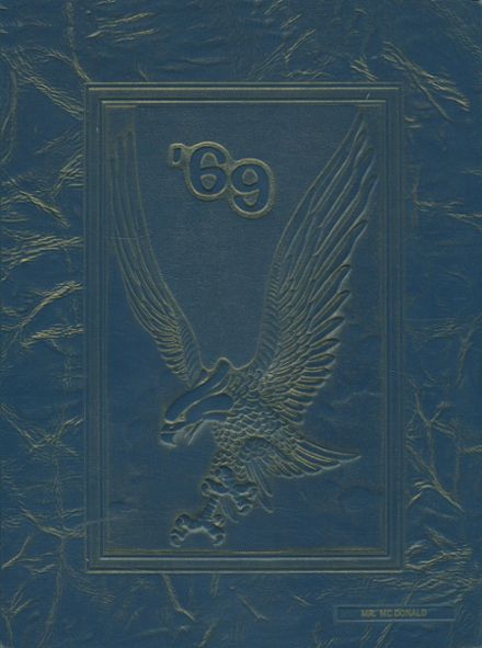 1969 Arroyo Grande High School Yearbook Cover